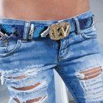 Фото 13: Драные джинсы