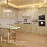 Фото 24: Интерьер кухни маленькой