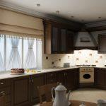 Фото 35: Кухня в частном доме