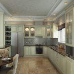 Фото 37: Кухня с гостиной