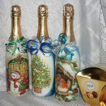 Фото 9: Новогодняя бутылка
