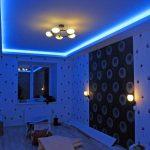 Фото 42: Подсветка потолка