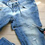 Фото 41: Рваные шорты