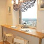 Фото 32: Стол и подоконник на кухне