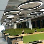 Фото 85: Круглые большие подвесные led–светильники