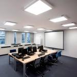 Фото 58: Накладные квадратные led–светильники в офисе