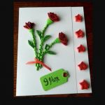 Фото 45: Открытка с цветам