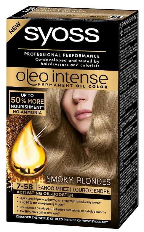 7.Syoss Oleo Intense