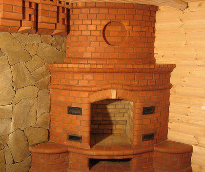 Фото 5. Угловой камин